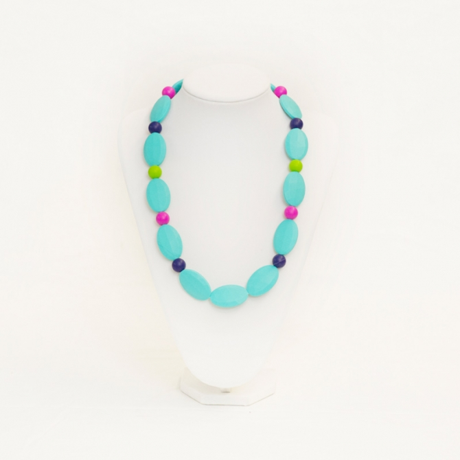 Anastasia teething necklace