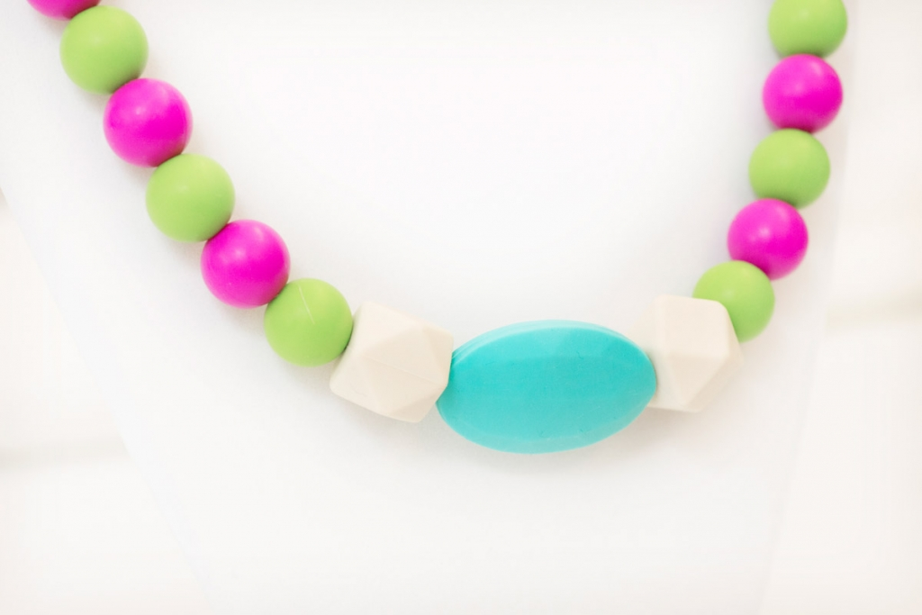 Ashley teething necklace