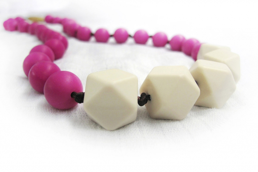 Julie teething necklace