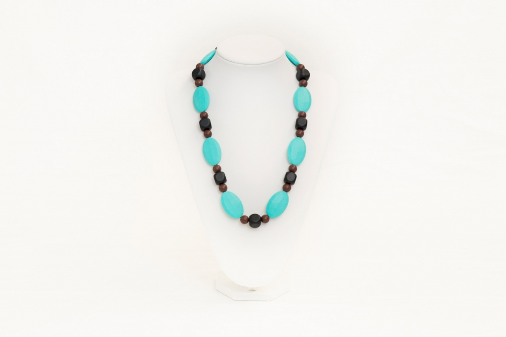 Tiffany teething necklace