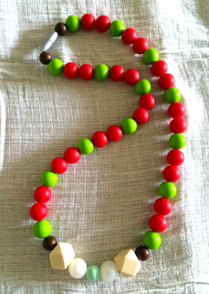Tinseltown teething necklace